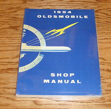 1954 Oldsmobile Shop Service Manual 54