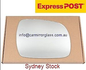 RIGHT SIDE MIRROR GLASS FOR LEXUS RX SERIES RX330 350 400 2003-2009 (FLAT GLASS)