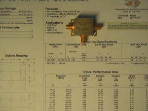 Mini-Circuits ZEM-4300-1, RF Mixer 300MHz - 4300Mhz, 50 Ohm, SMA Connectors