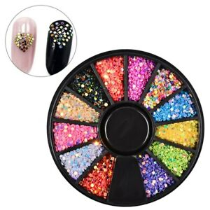 Nail Art Glitter Spangles Dots Spring Summer 3D Nail Art Decoration