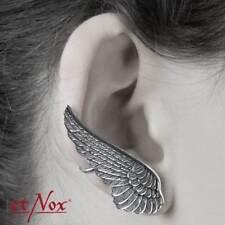 WING EAR CUFF EARRING STERLING SILVER, RIGHT EAR, EARCUFF, ANGEL, BIRD BY ETNOX