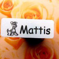 40 selbstklebende Wäscheetiketten Namensetiketten Bügeletiketten Smilie