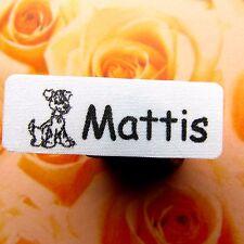 200 Stück Wäscheetiketten Namensschilder Wäscheschilder aufbügeln