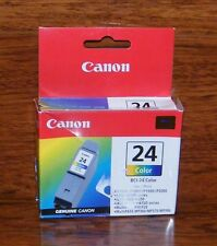 Genuine Canon 24 Color Ink Cartridge (BCI-24) (6882A003AB) 130 Page Yield