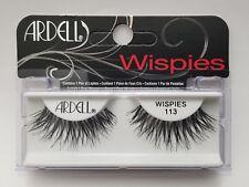 (LOT OF 4) Ardell False Lashes Glamour #113 Ardell Eyelashes Black WISPIES