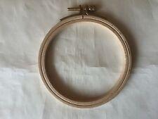 Cross Stitch Wooden Embroidery Craft Hoop  10 cm. Diameter.