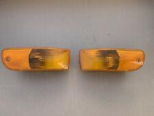 Porsche 993 Marker Lights Amber USA Front Turn Signals 99363107100 99363107200