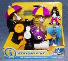 IMAGINEXT DC SUPER FRIENDS THE PENGIN COPTER BONUS THE PENGUIN & BATMAN FIGURES