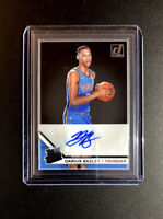 2019-20 Donruss Clearly Rated Rookie Darius Bazley RC AUTO Thunder