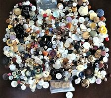 Large Lot of Vintage Dress Shirt Coat Sewing Buttons