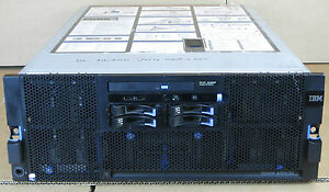 IBM X3850 M2 4x SIX-CORE XEON E7450 2.4GHz 64GB 2x 72GB 2x 73GB RAID Rack Server
