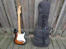 1990'S FERNANDES ELECTRIC STRATOCASTER GUITAR FOR MINOR TUNE UP PEAVEY COVER INT