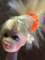 1966 Twist & Turn Mattel Barbie Rooted Hair & Eyelash Brown Eyes Blonde Japan