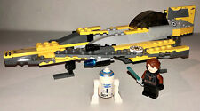 LEGO 7669 Star Wars Anakin's Jedi Starfighter Complete Set w/ Minifigures