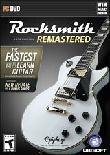 Rocksmith 2014 Edition + cable  Remastered PC/MAC NEW!