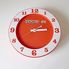 pendule / horloge JAZ electronic vintage deco années 60 70 design 1970