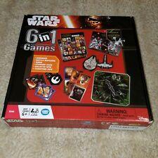 Wonder Forge Star Wars 6 in 1 Games Dominoes Bingo Matching Game
