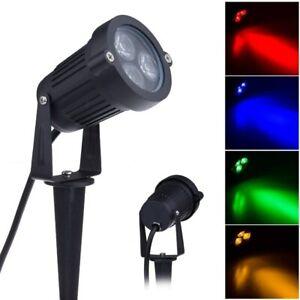 Outdoor Garden Lawn Lamps 220V 110V 12V 9W LED Landscape Light Waterproof Spike