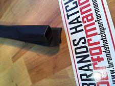 5M 9.5mm Black Automotive High Temperature Heat-shrink Tubing 2:1 Shrink