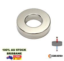 1 x Powerful Rare Earth Ring Magnet D63.5x15.24mm Hole D35.5 | N52 | Neodymium