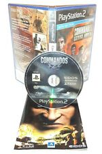 COMMANDOS STRIKE FORCES - Playstation 2 Ps2 Play Station Gioco Game Sony