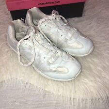 Chasse Ace Ii Girls Cheer White Shoes Sneakers Sz 6