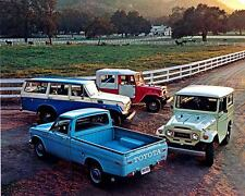 1971 Toyota Land Cruiser Pickup Truck Photo Poster zc1741-FYYOOI