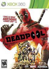 NEW Deadpool Dead Pool (Xbox 360, 2013)
