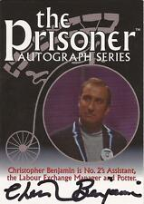 "The Prisoner Volume 2 - PA2 Christopher Benjamin ""Potter"" Autograph Card"