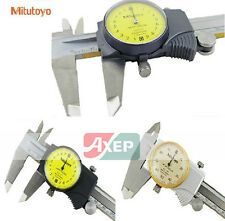 Mitutoyo 505-684 Dial Caliper Vernier 505-684 Range 0~200mm *New In Box