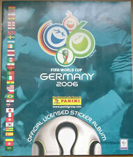 PANINI GERMANY WORLD CUP 2006 COMPLETE STICKER ALBUM AND 7 UPDATE STICKERS