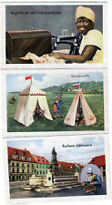1931 Complete Set of 10 TEXTILE INDUSTRY Cards India USA ++