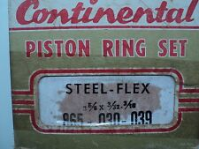 Continental Piston Ring Set part number 865 - .030 - .039