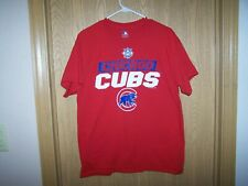 CHICAGO CUBS  MLB NATIONAL LEAGUE SHIRT RED SIZE LARGE