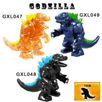 Godzilla Japan Monster Building Blocks Mini-figures Animal Movie Kids Toys Gifts