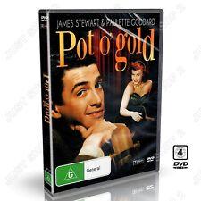 Pot o' Gold (1941) : James Stewart, Paulette Goddard : New DVD