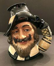 Royal Doulton 'Guy Fawkes' D6861 1990 Large Character Jug - Colourway Ltd To 750