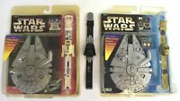 Lot of 3 Vintage Vtg 1996 Star Wars Collectable Watch Darth Vader, C-3PO, R2-D2