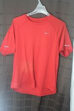 NIKE GOLF FIT DRY SHORT SLEEVE RED TEE SHIRT ~ SIZE XL