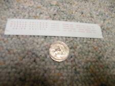 Herald King decals N Union Pacific passenger RPO REA etc    XX123