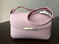 NWT Authentic Longchamp Le Foul City Cross-body Pink Leather Bag &415.00