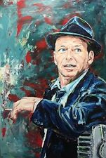 "Frank Sinatra Limited Edition Print 11"" x 14"" with mat Rat Pack Mobsters Icon"