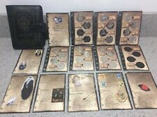 Harry Potter COMPLETE Asda/Gringotts 2001 Savings Book Coin Collection FULL SET