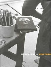 Manny Farber About Face Art Monograph 2003 Hugh Davies