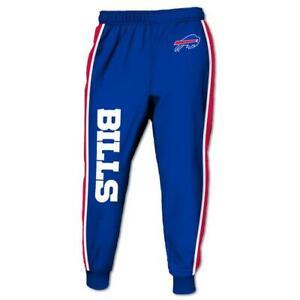 Buffalo Bills Casual Joggers Pants Sweatpants Active Sports Workout Trousers