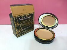 Too Faced Cocoa Powder Foundation Matte Finish .38 oz Full Size New in Box - Tan