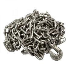 """1/4"""" X 20' Heavy Duty Tow Chain Automotive Truck Towing 20ft Log Chain"""