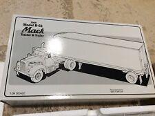 First Gear HENRY TRANSPORTATION Mack B-61 Model Tractor & Trailer 19-1192