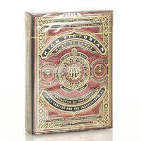 Theory11 Red High Victorian Playing Cards Deck - New Sealed VirtuosoFontaine