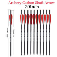 Details about  / Archery Carbon Arrows Practices Target Shooting Screw-in Tips Crossbow Bows6//12
